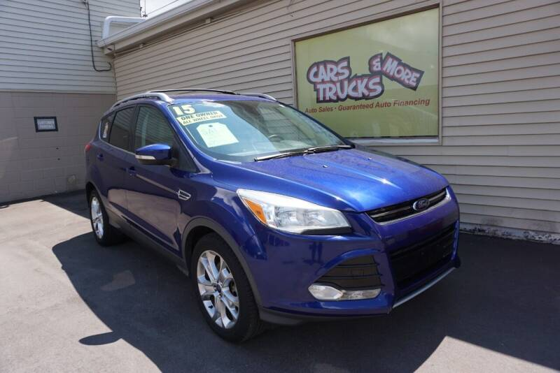 2015 Ford Escape for sale at Cars Trucks & More in Howell MI