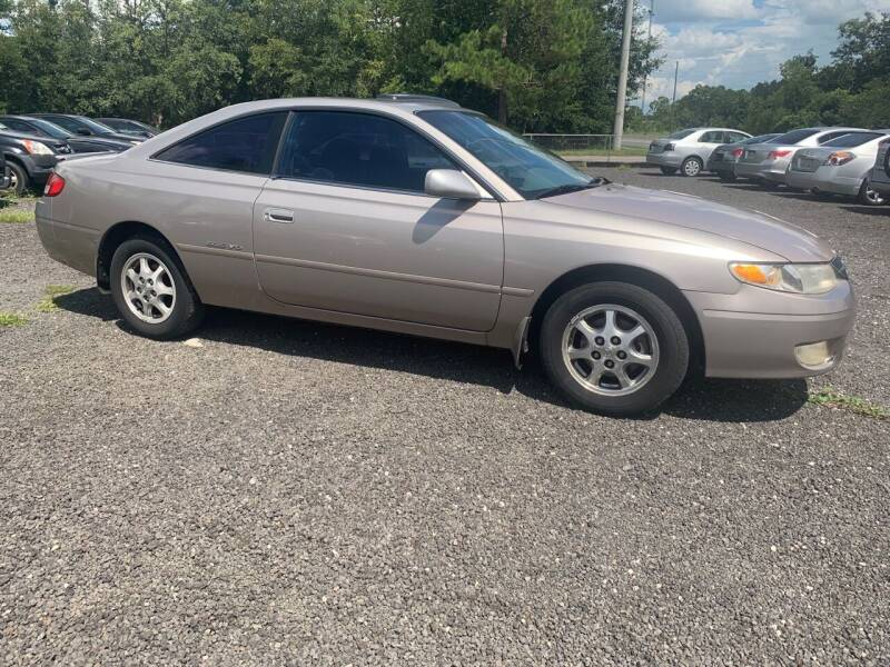 1999 Toyota Camry Solara for sale at Popular Imports Auto Sales in Gainesville FL
