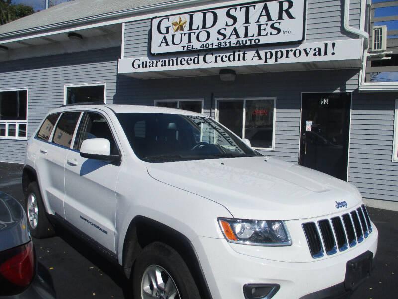 2015 Jeep Grand Cherokee for sale at Gold Star Auto Sales in Johnston RI