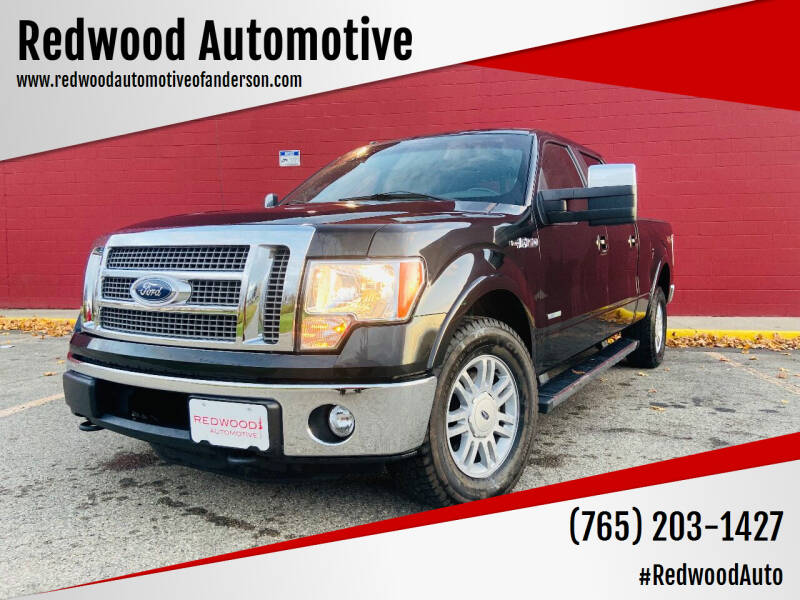 2012 Ford F-150 for sale at Redwood Automotive in Anderson IN