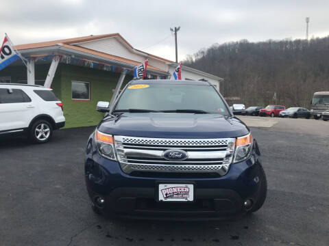 2012 Ford Explorer for sale at PIONEER USED AUTOS & RV SALES in Lavalette WV