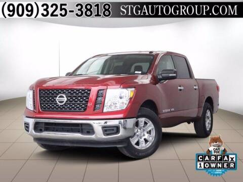 2019 Nissan Titan for sale at STG Auto Group in Montclair CA