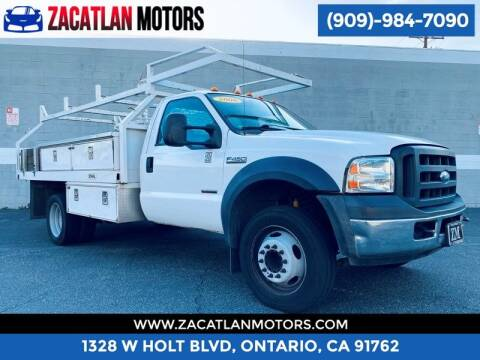 2006 Ford F-450 Super Duty for sale at Ontario Auto Square in Ontario CA