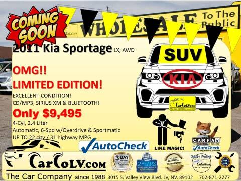 2011 Kia Sportage for sale at The Car Company in Las Vegas NV