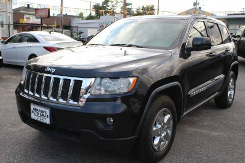 2012 Jeep Grand Cherokee for sale at Grasso's Auto Sales in Providence RI