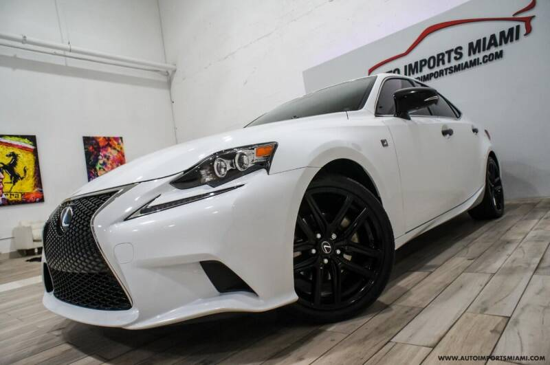 2015 Lexus IS 250 for sale at AUTO IMPORTS MIAMI in Fort Lauderdale FL