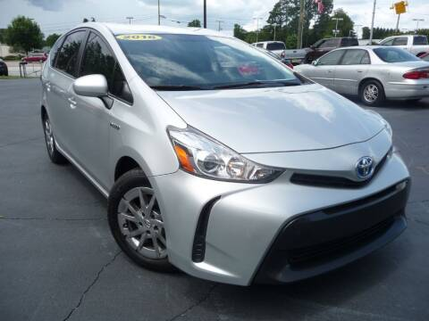 2016 Toyota Prius v for sale at Wade Hampton Auto Mart in Greer SC