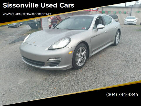2010 Porsche Panamera for sale at Sissonville Used Cars in Charleston WV