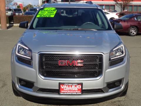 2014 GMC Acadia for sale at Vallejo Motors in Vallejo CA
