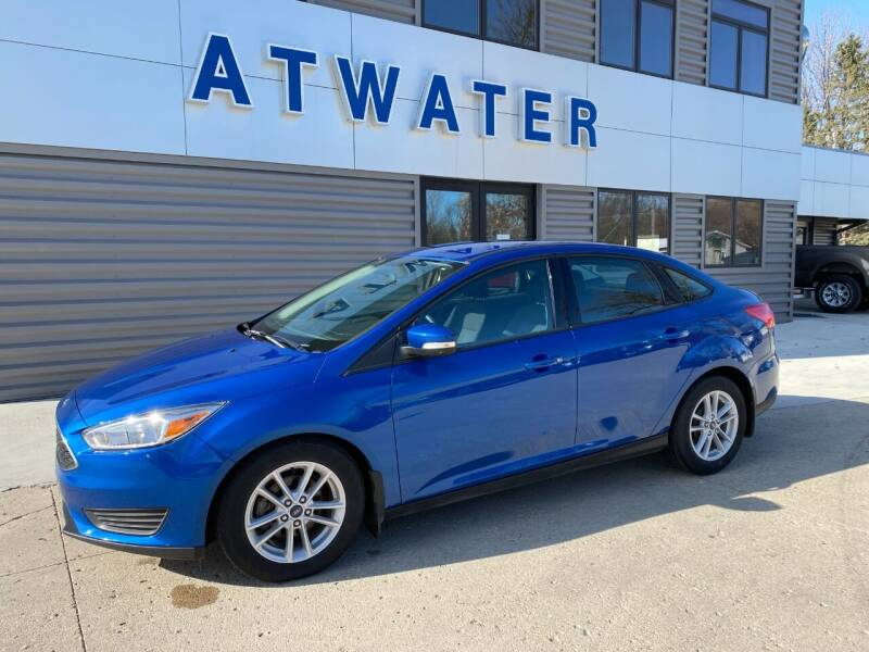 2018 Ford Focus for sale at Atwater Ford Inc in Atwater MN