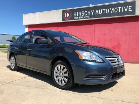 2014 Nissan Sentra for sale at Hirschy Automotive in Fort Wayne IN