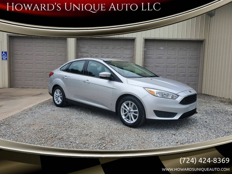 2016 Ford Focus for sale at Howard's Unique Auto LLC in Mount Pleasant PA