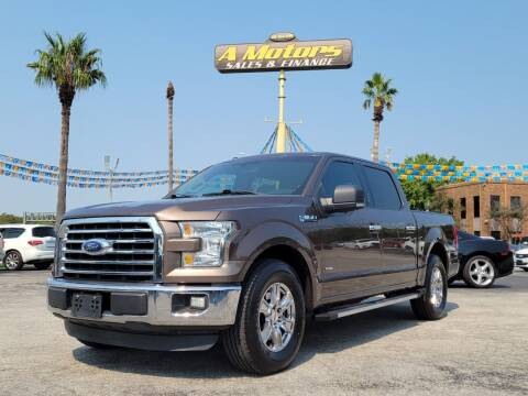 2015 Ford F-150 for sale at A MOTORS SALES AND FINANCE in San Antonio TX