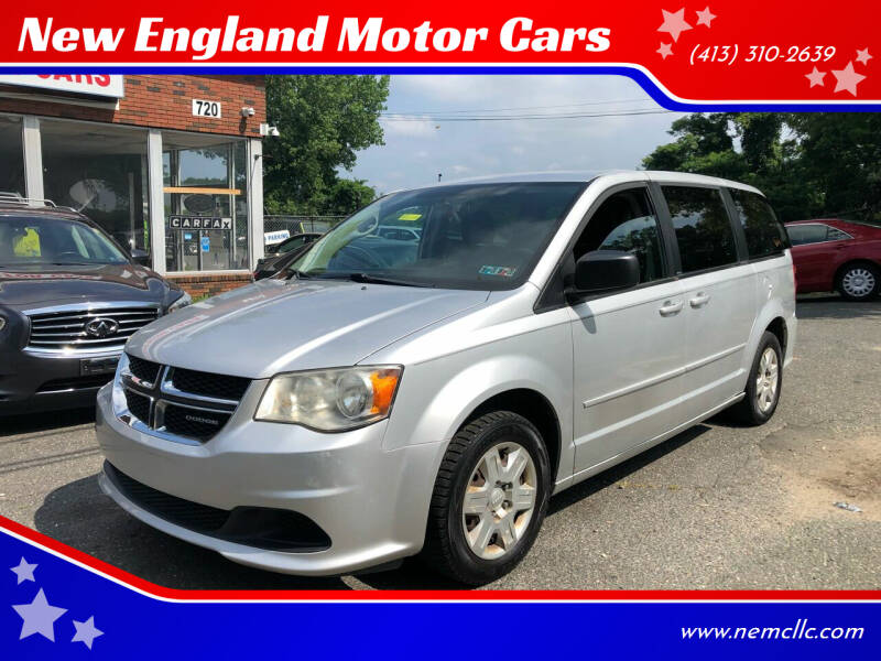 2011 Dodge Grand Caravan for sale at New England Motor Cars in Springfield MA