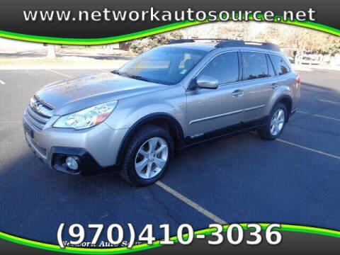 2014 Subaru Outback for sale at Network Auto Source in Loveland CO