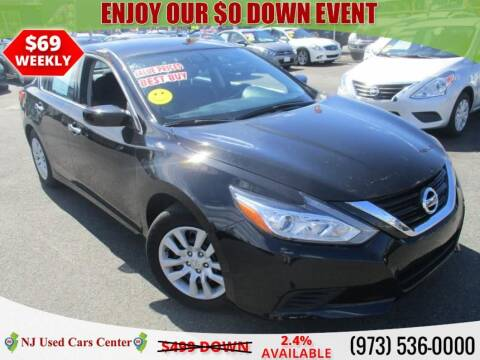 2017 Nissan Altima for sale at New Jersey Used Cars Center in Irvington NJ