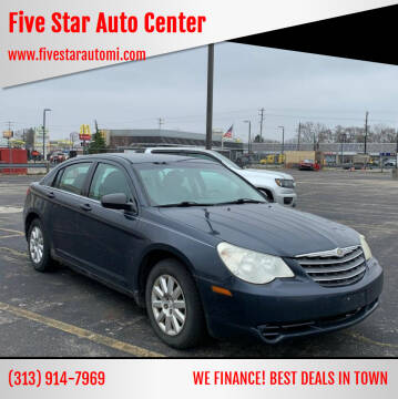 2008 Chrysler Sebring for sale at Five Star Auto Center in Detroit MI