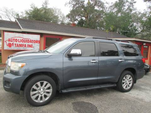 2010 Toyota Sequoia for sale at Auto Liquidators of Tampa in Tampa FL