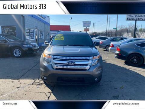 2012 Ford Explorer for sale at Global Motors 313 in Detroit MI