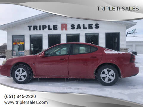 2007 Pontiac Grand Prix for sale at Triple R Sales in Lake City MN