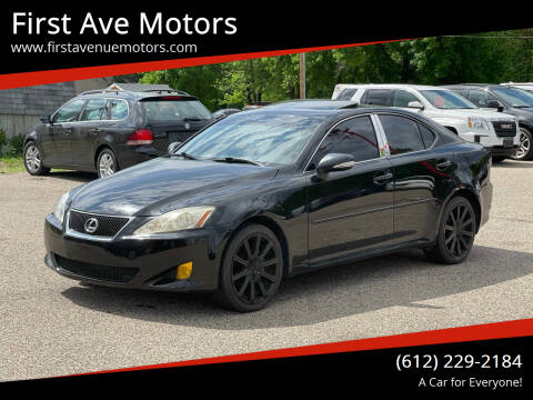 2009 Lexus IS 250 for sale at First Ave Motors in Shakopee MN