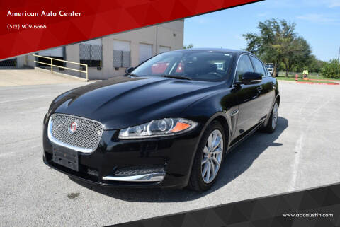 2014 Jaguar XF for sale at American Auto Center in Austin TX