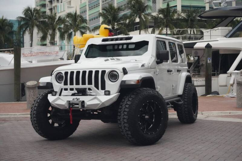 2018 Jeep Wrangler Unlimited for sale at Auto Beast in Fort Lauderdale FL