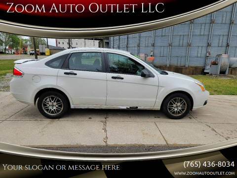 2010 Ford Focus for sale at Zoom Auto Outlet LLC in Thorntown IN