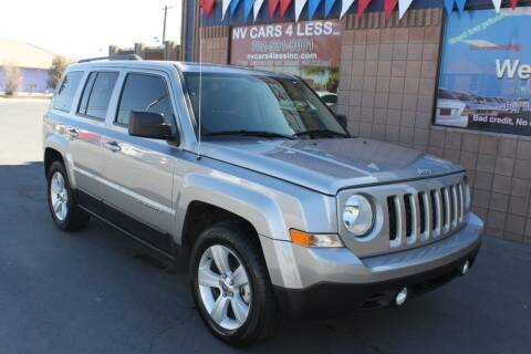 2016 Jeep Patriot for sale at NV Cars 4 Less, Inc. in Las Vegas NV