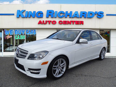 2013 Mercedes-Benz C-Class for sale at KING RICHARDS AUTO CENTER in East Providence RI