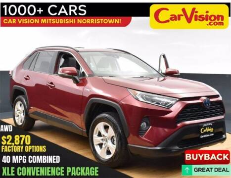 2019 Toyota RAV4 Hybrid for sale at Car Vision Buying Center in Norristown PA