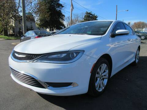 2016 Chrysler 200 for sale at PRESTIGE IMPORT AUTO SALES in Morrisville PA