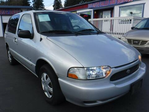 2000 Nissan Quest for sale at 777 Auto Sales and Service in Tacoma WA