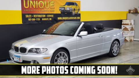 2005 BMW 3 Series for sale at UNIQUE SPECIALTY & CLASSICS in Mankato MN
