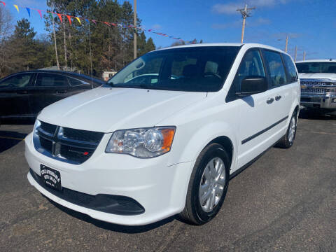 2015 Dodge Grand Caravan for sale at Affordable Auto Sales in Webster WI