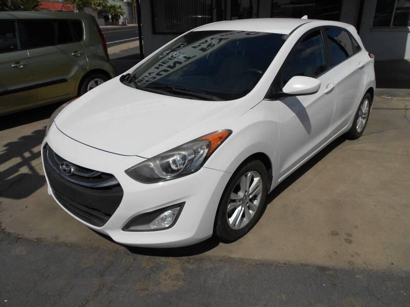 2013 Hyundai Elantra GT for sale at COUNTRY CLUB CARS in Mesa AZ