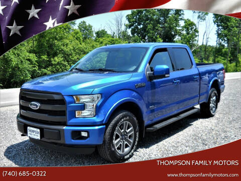 2015 Ford F-150 for sale at THOMPSON FAMILY MOTORS in Senecaville OH