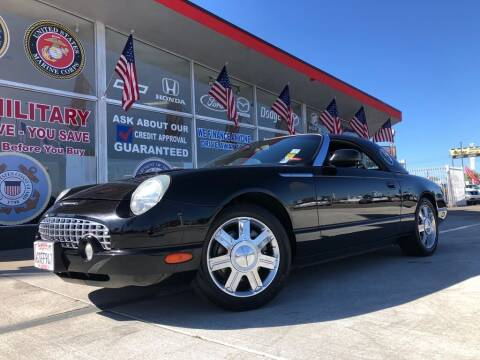 2005 Ford Thunderbird for sale at VR Automobiles in National City CA