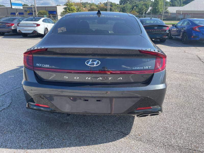 2020 Hyundai Sonata for sale at East Memphis Auto Center in Memphis TN