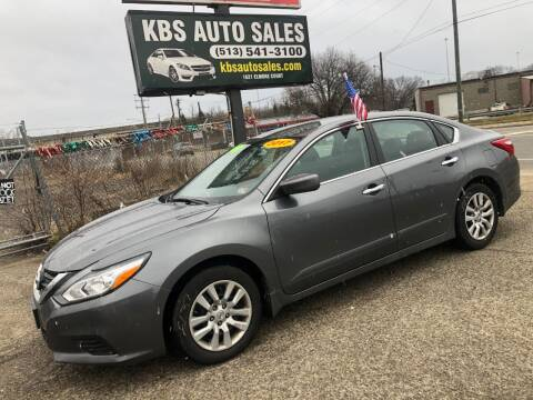 2017 Nissan Altima for sale at KBS Auto Sales in Cincinnati OH