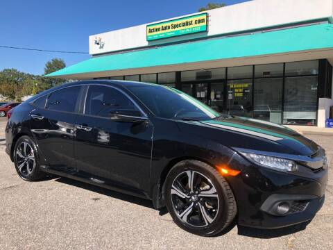 2016 Honda Civic for sale at Action Auto Specialist in Norfolk VA