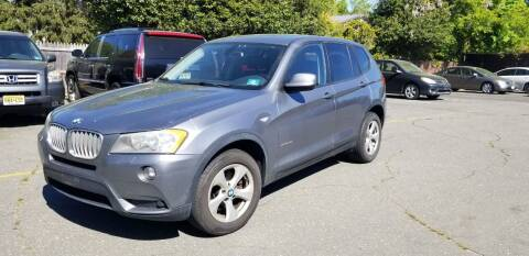 2011 BMW X3 for sale at Central Jersey Auto Trading in Jackson NJ