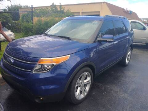 2015 Ford Explorer for sale at LAND & SEA BROKERS INC in Pompano Beach FL