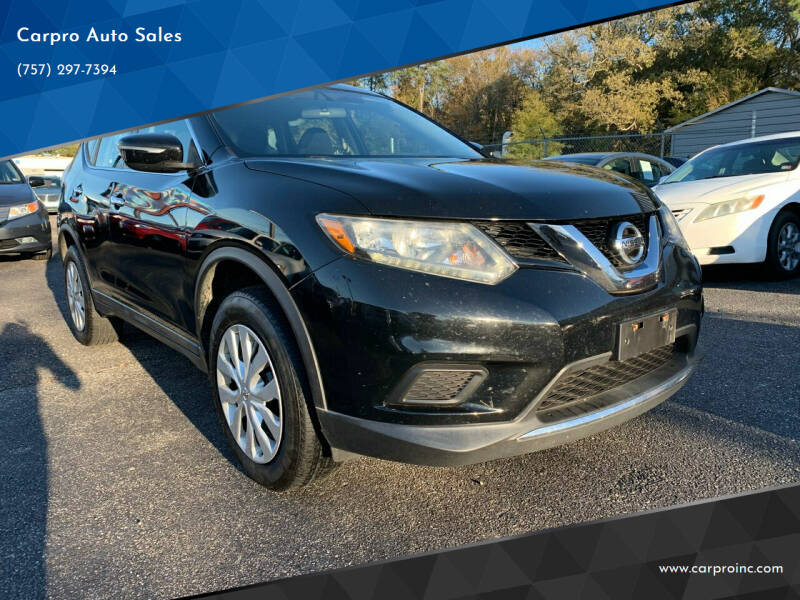2014 Nissan Rogue for sale at Carpro Auto Sales in Chesapeake VA