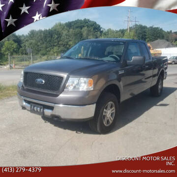 2006 Ford F-150 for sale at Discount Motor Sales inc. in Ludlow MA