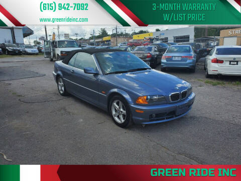 2003 BMW 3 Series for sale at Green Ride Inc in Nashville TN