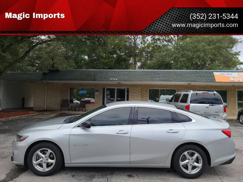 2017 Chevrolet Malibu for sale at Magic Imports in Melrose FL