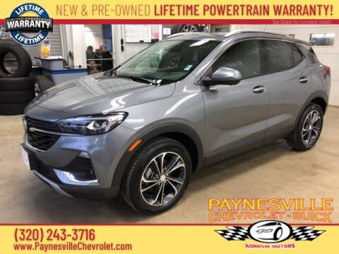 2020 Buick Encore GX for sale at Paynesville Chevrolet - Buick in Paynesville MN