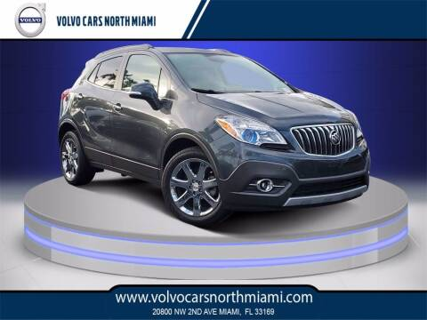 2016 Buick Encore for sale at Volvo Cars North Miami in Miami FL