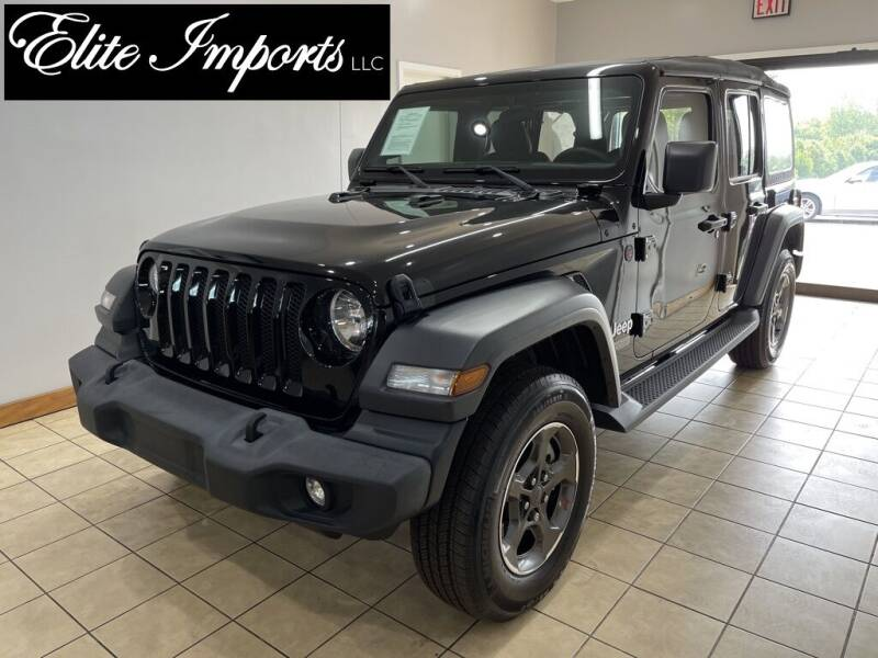 2018 Jeep Wrangler Unlimited for sale in West Chester, OH